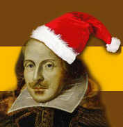 Image result for shakespeare christmas