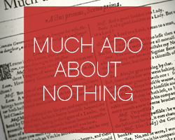 Much Ado USD 2013