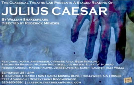 Julius Caesar classical theatre lab