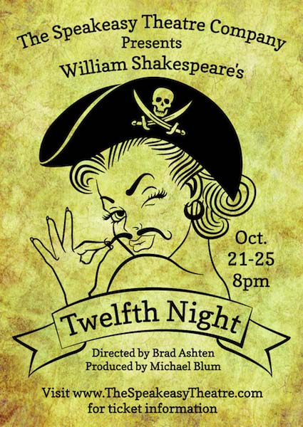 Twelfth Night - Speakeasy
