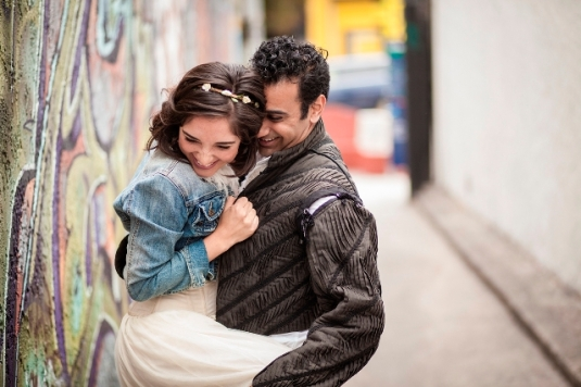 Erica Soto and Nikhil Pai. Photo credit: Mike Ditz