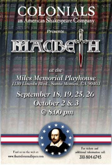 Colonials Macbeth