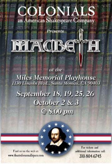 Colonials Macbeth