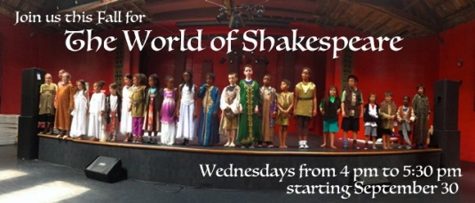 LA Drama Club world of shakespeare