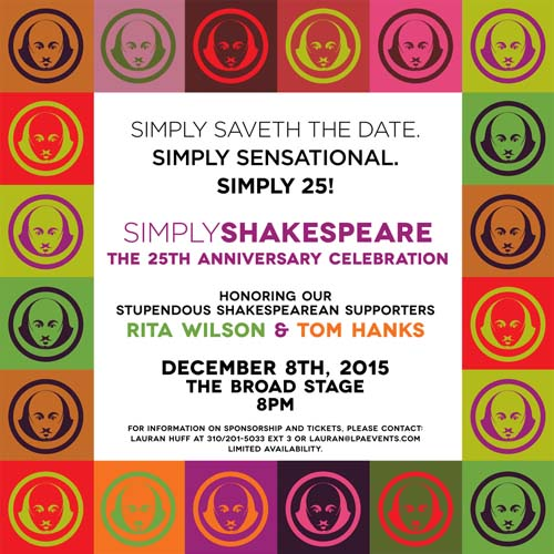Simply Shakespeare Dec 2015